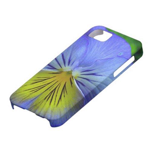 Pensamiento azul iPhone 5 carcasa