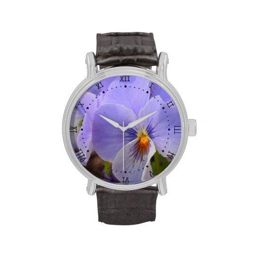 pensamiento azul reloj
