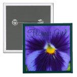 Pensamiento Azul-Violeta Pins