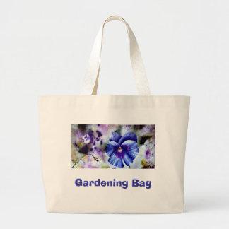 Pensamiento, bolso que cultiva un huerto bolsa tela grande