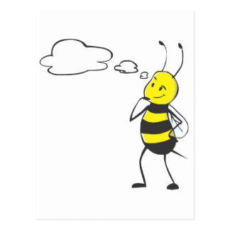 Pensamiento de la abeja postal