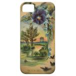 Pensamiento del Victorian pastoral iPhone 5 Case-Mate Protectores