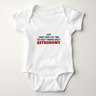 Pensamiento demasiado ocupado en astronomía body para bebé