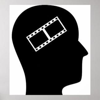 Pensamiento en corregir video póster