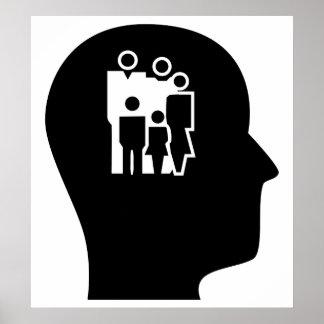 Pensamiento en el asesoramiento posters