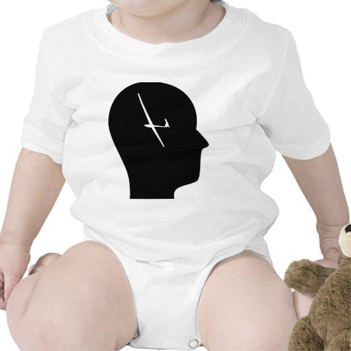 Pensamiento en el deslizamiento trajes de bebé