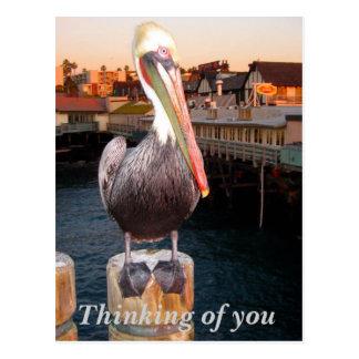 Pensamiento en el you_Postcard Tarjetas Postales
