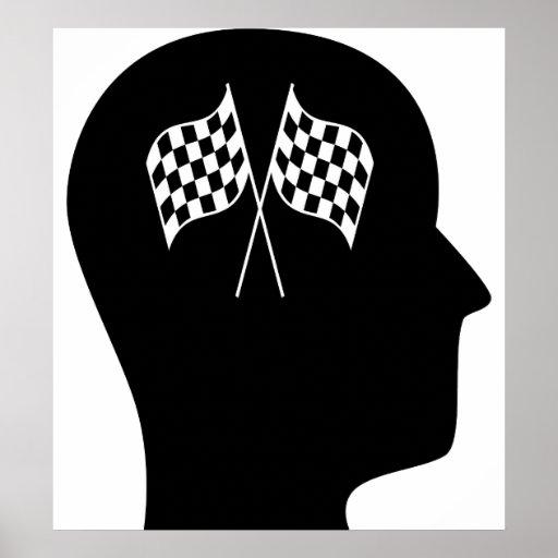 Pensamiento en Fórmula 1 Póster