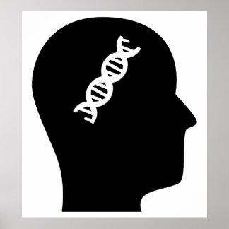 Pensamiento en genética póster