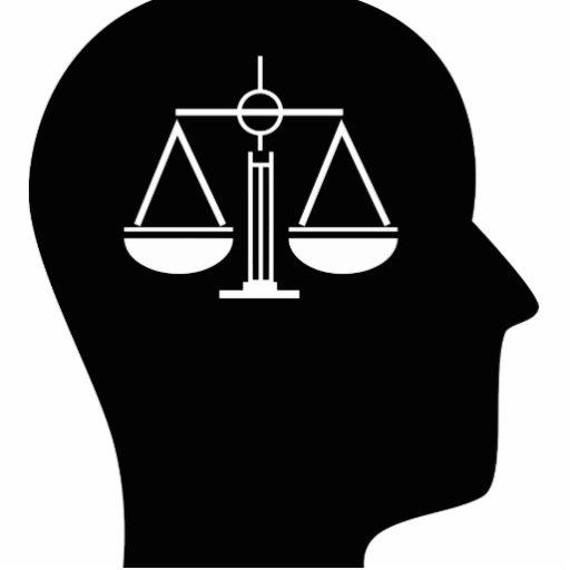 Pensamiento en justicia penal adorno fotoescultura
