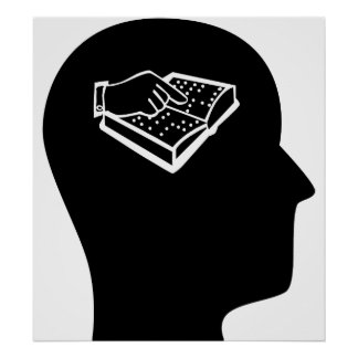 Pensamiento en la enseñanza de la persona con defi póster