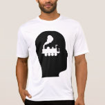 Pensamiento en los trenes camisetas