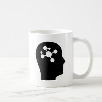 Pensamiento en química del polímero taza