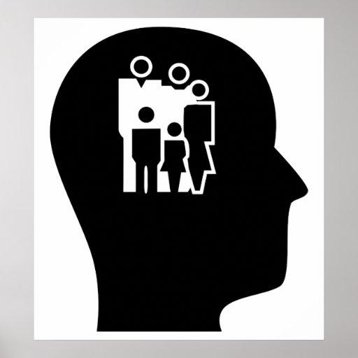 Pensamiento en trabajo social póster