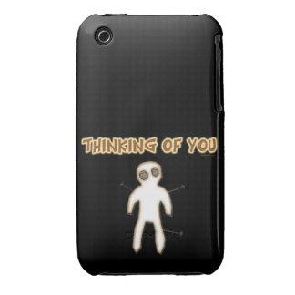 Pensamiento en usted Case-Mate iPhone 3 carcasa