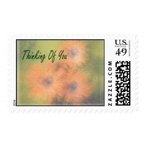 Pensamiento en usted sello