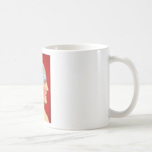 Pensamiento en usted taza de café