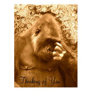Pensamiento en You_Postcard Postales