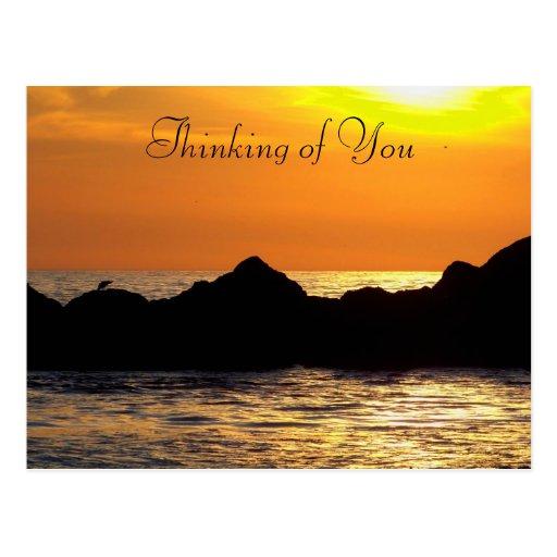 Pensamiento en You_Postcard Tarjetas Postales