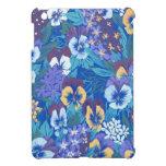 Pensamiento floral abstracto del vintage iPad mini protector