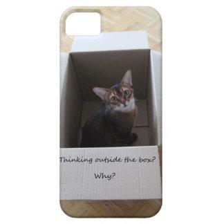 Pensamiento fuera de la caja iPhone 5 Case-Mate carcasa
