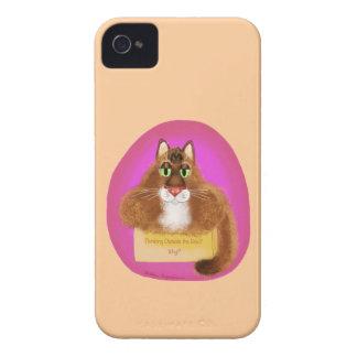 ¿Pensamiento fuera de la caja - por qué? iPhone 4 Case-Mate Cárcasa