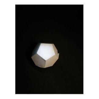 Pensamiento fuera del Dodecahedron Tarjetas Postales