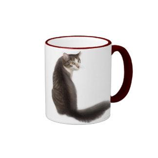 Pensamiento la taza del gato