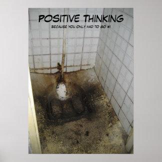 Pensamiento positivo posters