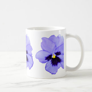 Pensamiento púrpura taza clásica