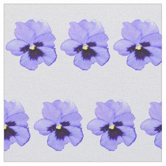 Pensamiento púrpura telas