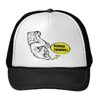 Pensamiento reverso gorras de camionero