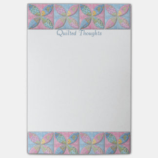 Pensamientos acolchados para el Quilter Notas Post-it®