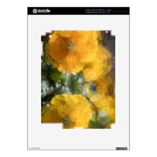Pensamientos amarillos calcomanías para iPad 2