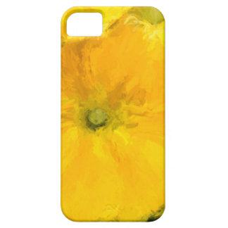 Pensamientos amarillos iPhone 5 fundas
