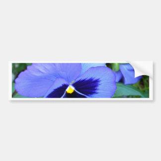 Pensamientos - arte floral fotográfico de CricketD Etiqueta De Parachoque