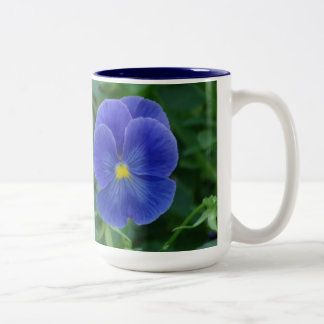 Pensamientos azules taza
