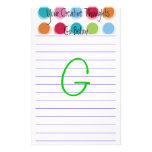 """Pensamientos creativos """"G """" Papeleria De Diseño"""