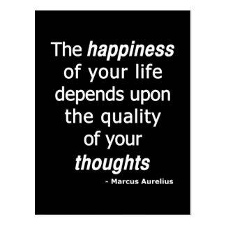 ¿Pensamientos de la calidad? Entonces una vida Postales