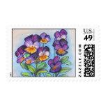 Pensamientos de la púrpura de los sellos