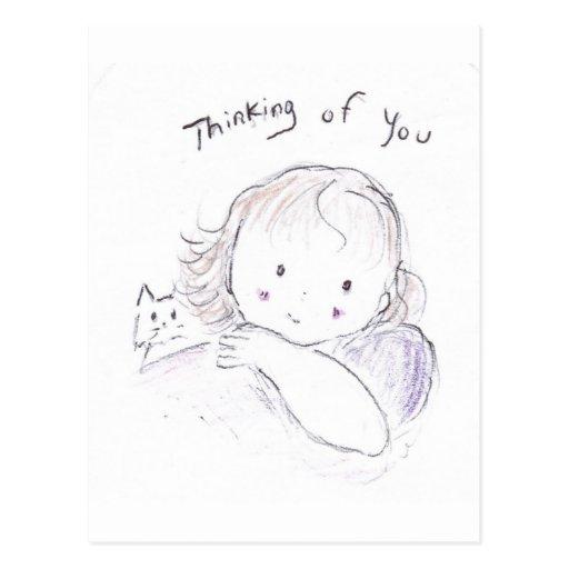 Pensamientos de usted postal