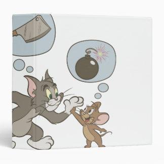 """Pensamientos del mal de Tom y Jerry Carpeta 1 1/2"""""""