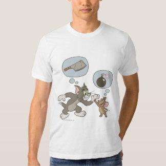 Pensamientos del mal de Tom y Jerry Remera