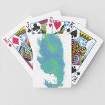 Pensamientos pintados cartas de juego