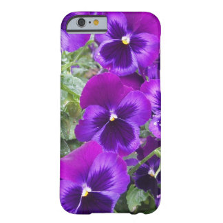 Pensamientos púrpuras funda para iPhone 6 barely there