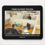 pensar-exterior--box alfombrilla de ratón