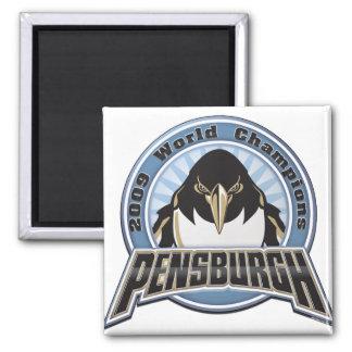 pensburgh-2009 imán cuadrado