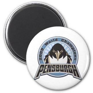 pensburgh-2009 imán redondo 5 cm