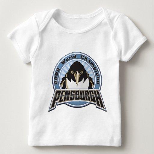 pensburgh-2009 playera de bebé