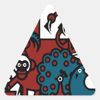 Penscynor Designs Triangle Sticker
